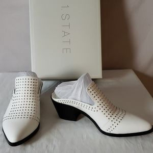 New 1.State Lon Studded Mule